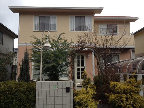 広島市安佐北区O様邸(外壁塗装)