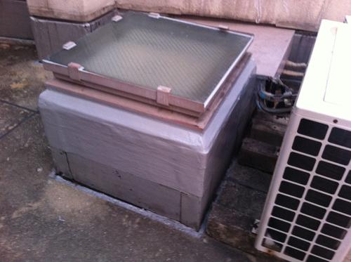 広島市中区Lマンション(トップライト防水)