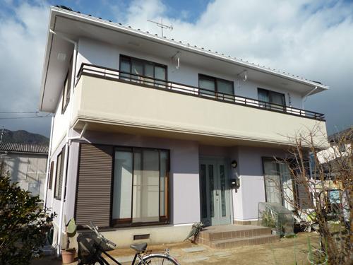 安芸郡熊野町I様邸(外壁塗装)
