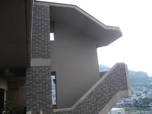 広島市安芸区Gマンション(階段塗装)