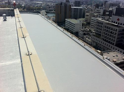 広島市中区Sマンション(屋上防水)