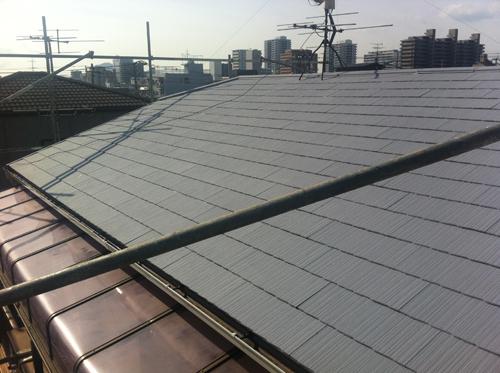 広島市南区M様邸(屋根塗装)