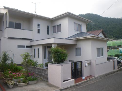 広島市東区N様邸(外壁塗装)