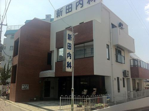 広島市東区N内科様(外壁塗装)