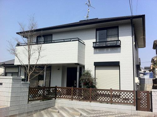 呉市焼山K様邸(外壁塗装)